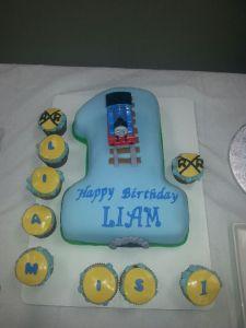 Thomas #1 Cake